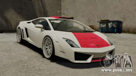 Lamborghini Gallardo Victory II 2010 HAMANN para GTA 4