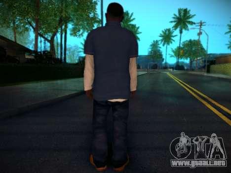 Franklin para GTA San Andreas sucesivamente de pantalla