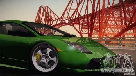 Lamborghini Murcielago 2002 v 1.0 para GTA San Andreas vista hacia atrás