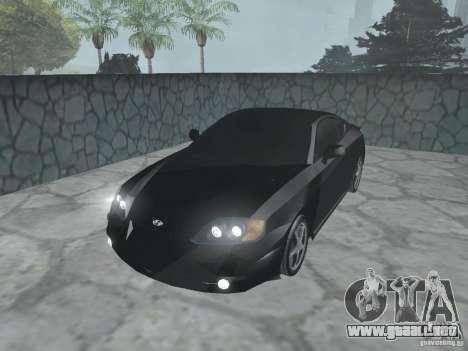 Hyundai Tiburon GT para GTA San Andreas