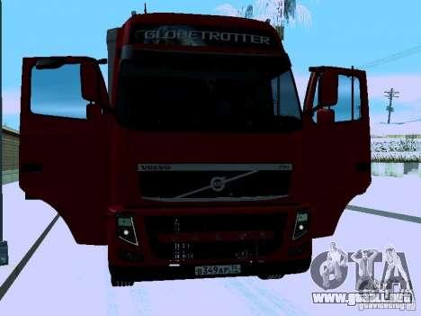 Volvo FH13 para vista lateral GTA San Andreas