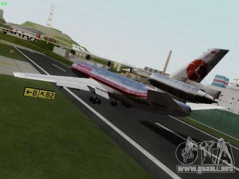 McDonell Douglas DC-10-30 Hawaiian para GTA San Andreas left