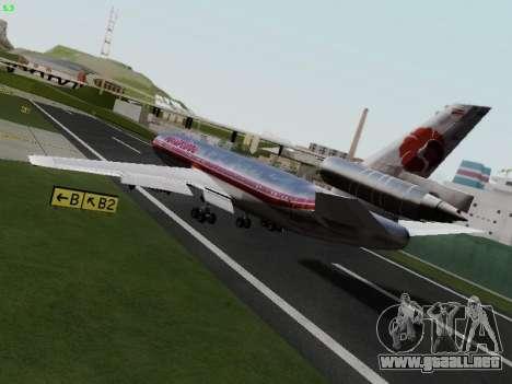 McDonell Douglas DC-10-30 Hawaiian para GTA San Andreas left