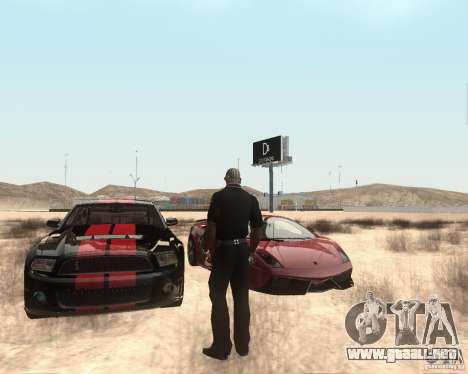 Star ENBSeries by Nikoo Bel para GTA San Andreas sucesivamente de pantalla