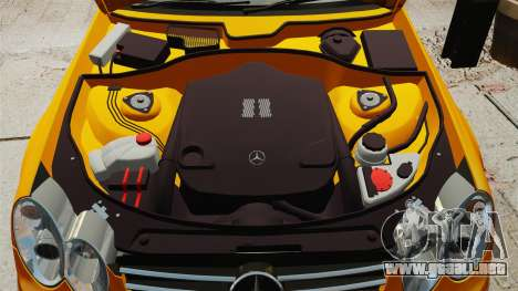 Mercedes-Benz CLK 55 AMG para GTA 4 vista interior