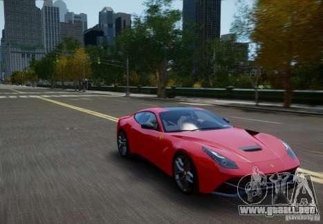 Ferrari F12 Berlinetta 2013 para GTA 4 visión correcta