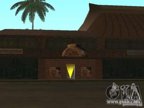 New Chinatown para GTA San Andreas octavo de pantalla