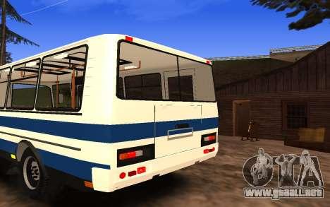 PAZ 3205 para GTA San Andreas