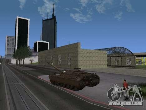 PT-SAU T95 para GTA San Andreas vista posterior izquierda