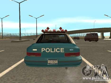 HD Police from GTA 3 para visión interna GTA San Andreas