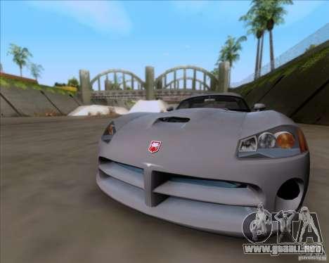 Dodge Viper SRT-10 Coupe para GTA San Andreas left