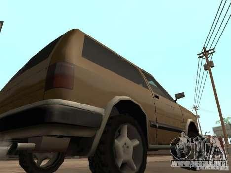Landstalker nuevo para GTA San Andreas vista hacia atrás