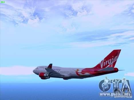 Boeing 747-4Q8 Lady Penelope para GTA San Andreas left