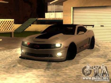 Chevrolet Camaro SSX V1.1 para GTA San Andreas