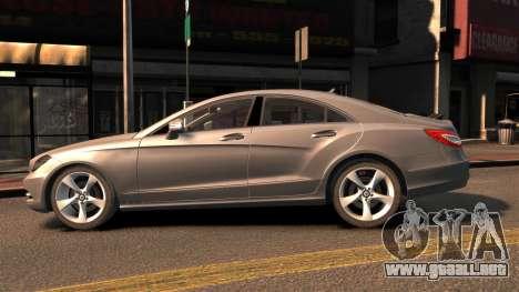 Mercedes-Benz DK CLS350 para GTA 4 left