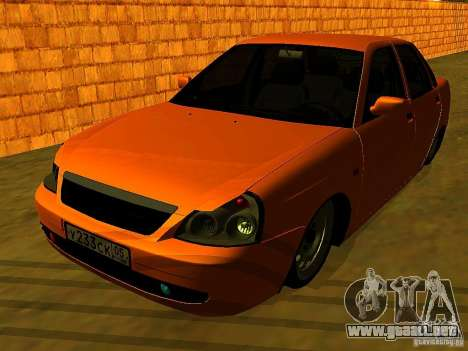 LADA 2170 Anzhi para GTA San Andreas