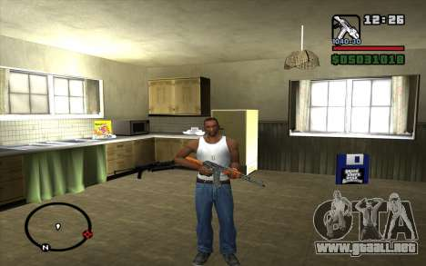 AKM para GTA San Andreas