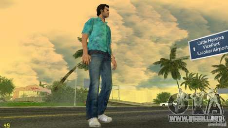 Tommy HQ Model para GTA Vice City