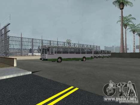 4-th autobús v1.0 para GTA San Andreas quinta pantalla