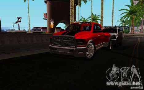 Dodge Ram 3500 Tuning para GTA San Andreas left