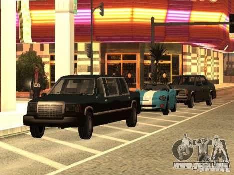 Club para GTA San Andreas segunda pantalla