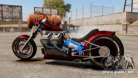 Dragbike Street Racer para GTA 4 left