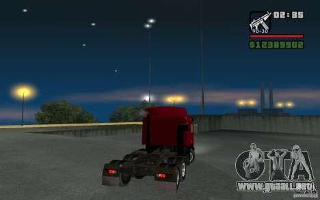 MAZ-643068 para GTA San Andreas left