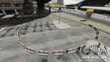 Deriva-pista en el aeropuerto para GTA 4 segundos de pantalla