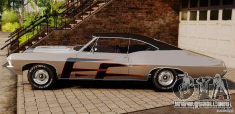 Chevrolet Impala 427 SS 1967 para GTA 4 left