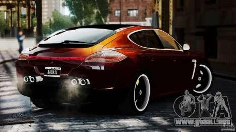 Porsche Panamera Gemballa Mistrale 2010 para GTA 4