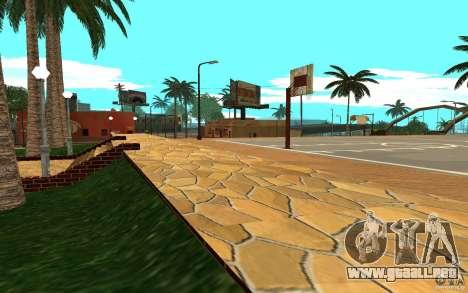 Nueva cancha de baloncesto de texturas para GTA San Andreas
