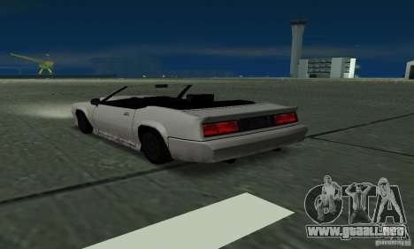 Buffalo Cabrio para GTA San Andreas left