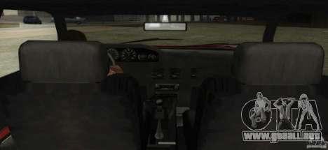 Sultan SRX para la visión correcta GTA San Andreas