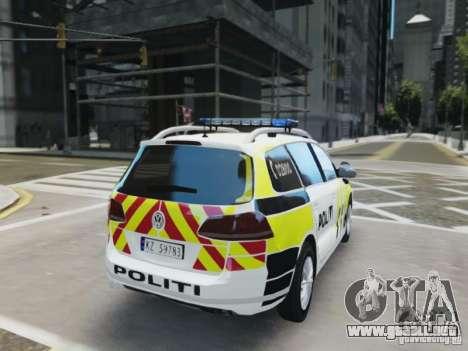 Volkswagen Passat B7 Variant 2012 para GTA 4 visión correcta