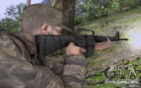 M16A1 Vietnam war para GTA San Andreas segunda pantalla