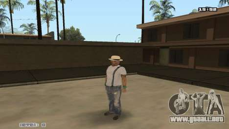 Construir las pieles Rifa para GTA San Andreas segunda pantalla