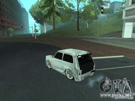 VAZ 2121 Final para GTA San Andreas left