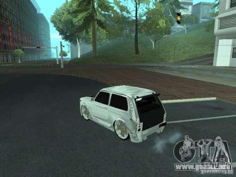 VAZ 2121 Final para GTA San Andreas left