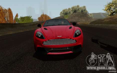 Aston Martin Vanquish 2012 para GTA San Andreas left