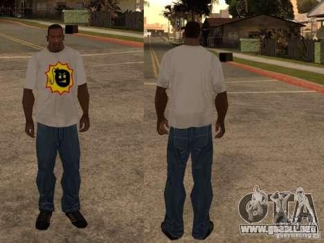Nueva camiseta para GTA San Andreas