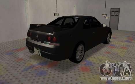 Nissan Skyline GTS25T (R33) para la visión correcta GTA San Andreas