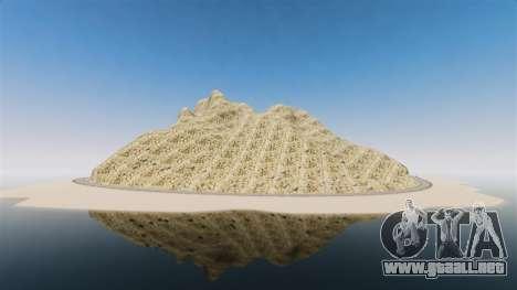Pico de la montaña para GTA 4 adelante de pantalla