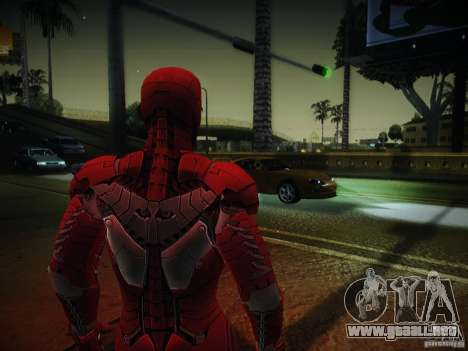 Iron Man 3 Mark V para GTA San Andreas segunda pantalla