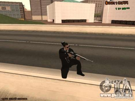 Gray weapons pack para GTA San Andreas sexta pantalla