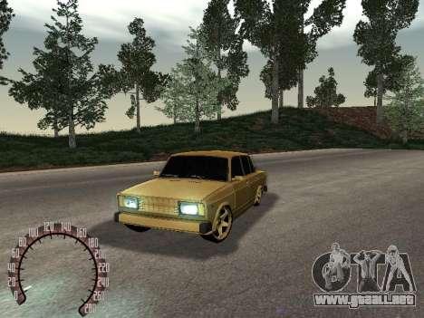 VAZ 2105 oro para GTA San Andreas