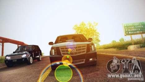 Cadillac Escalade ESV 2012 para visión interna GTA San Andreas