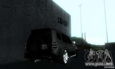 Mitsubishi Pajero FBI para GTA San Andreas left