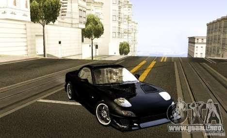 Mazda RX-7 C-West para la visión correcta GTA San Andreas
