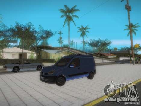 Renault Kangoo II Stock para vista lateral GTA San Andreas