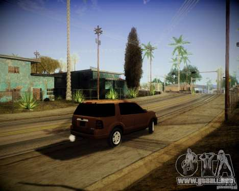 Ford Explorer para la visión correcta GTA San Andreas